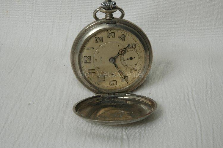 ancienne et vieille montre gousset trib besan on ou montre de poche mon vieux grenier. Black Bedroom Furniture Sets. Home Design Ideas