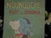 """Livre ancien pour enfants """"Nounouche fait du cinéma"""", par Durst"""