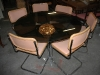 Table et chaise design vintage 1970