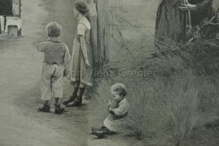 Repro peintures du 19ème siècle