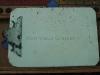 tablette porte-papier avec pince