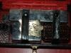 malette cuir noir coffret de toilette