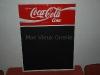 Ardoise publicitaire Coca-Cola