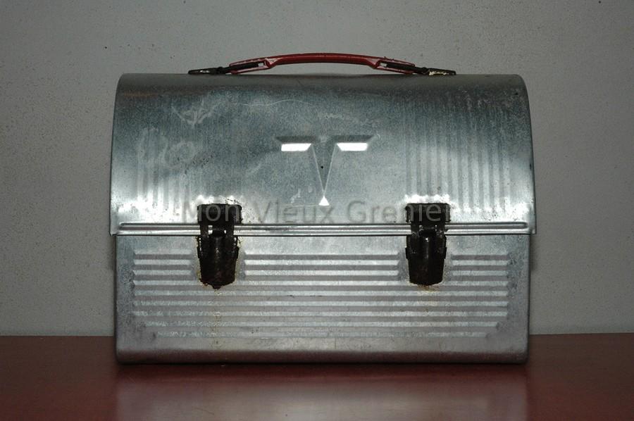 Ancienne malette thermos en m tal mon vieux grenier - Boite metal ancienne ...