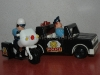 policiers, moto, voiture Fisher Price 1981