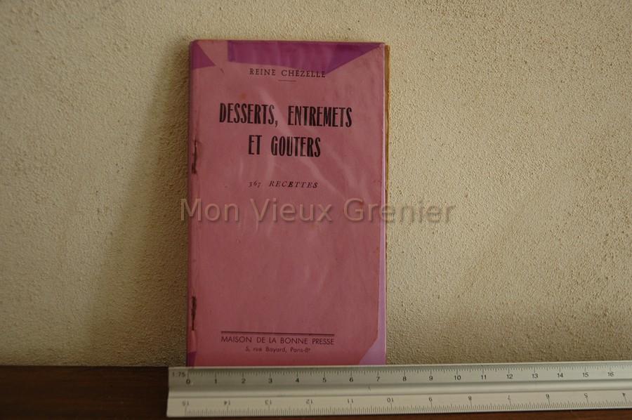 Ancien livre de cuisine vieux grenier for Anciens livres de cuisine