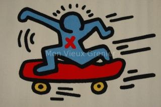 keith haring skate