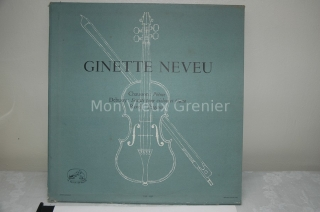 Ginette Neveu LP FJLP 5037