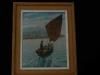 Peinture marine « Le Petit Yvon » à Dinard H. Duval
