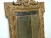 Joli petit miroir 19 ème bois moulures