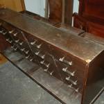 Ancien Meuble de métier à tiroir