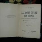 Livre ancien : «La bonne cuisine aux colonies» 1931