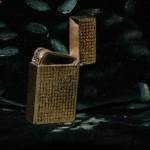 Briquet ancien doré